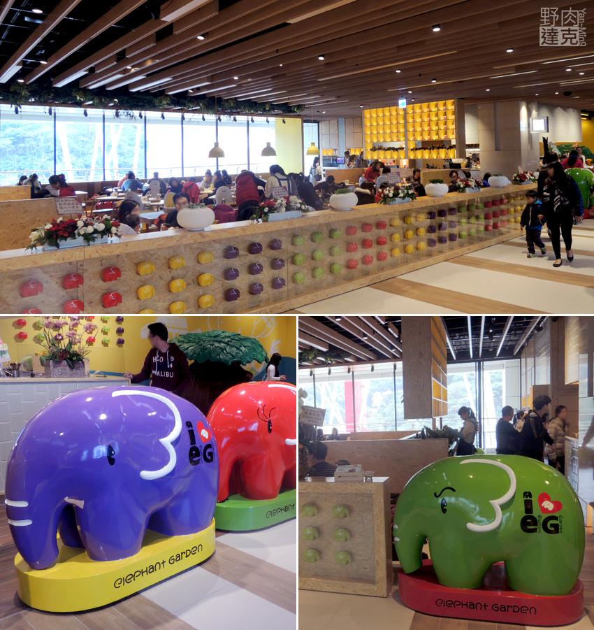 Citylink南港車站 象園咖啡(Elephant Garden)人氣親子餐廳