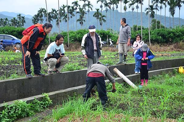 2014夢想新農計畫的田間實務課程