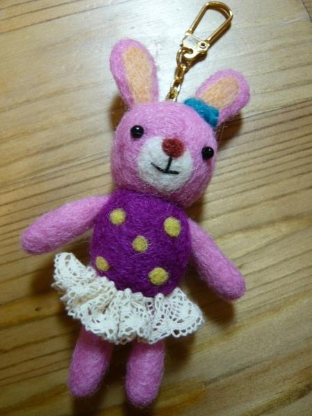 粉紅 鑰匙圈