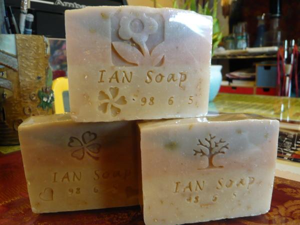 牛奶燕麥三層皂