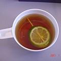 曼谷-清萊機上紅茶
