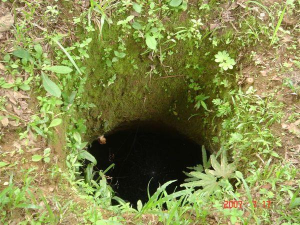 人洞--關犯錯軍人的地下土室