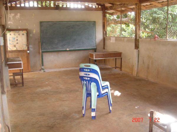 四年級教室內景