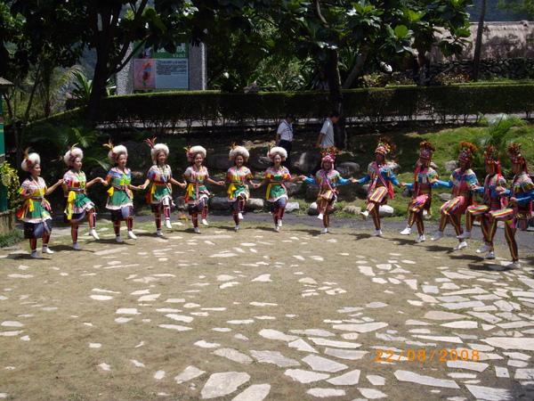 阿美族歌舞表演