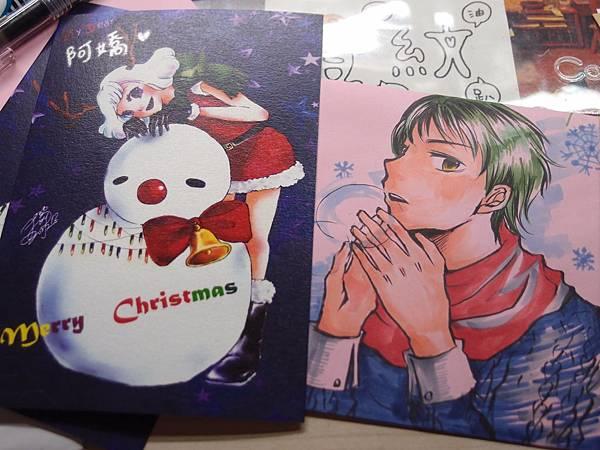 聖誕明信片&賀卡