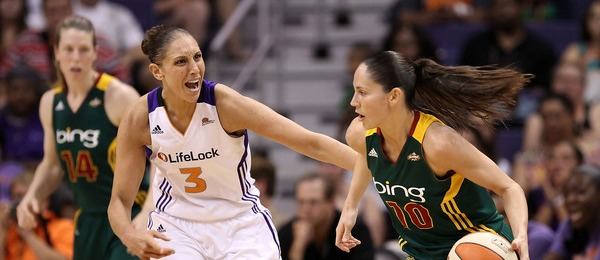 Diana Taurasi & Sue Bird