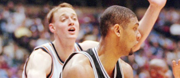 Keith Van Horn vs Tim Duncan