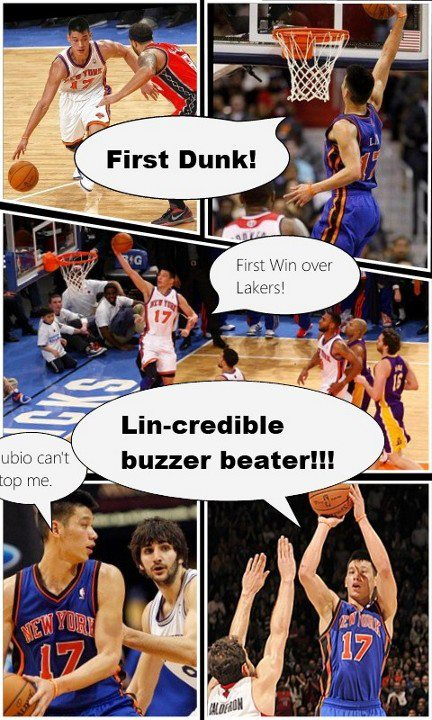 Jeremy Lin Comic Book