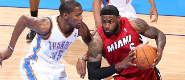 Kevin Durant vs LeBron James