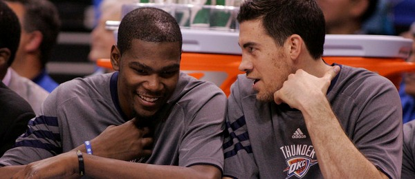 Kevin Durant & Nick Collison