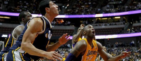 Kobe Bryant vs Utah Jazz