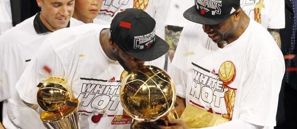 LeBron James & Dwyane Wade