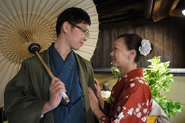 小枚&可愛的慧蘭的京都散步