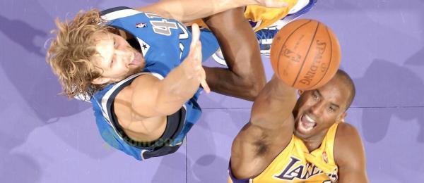 Dirk Nowitzki vs Kobe Bryant