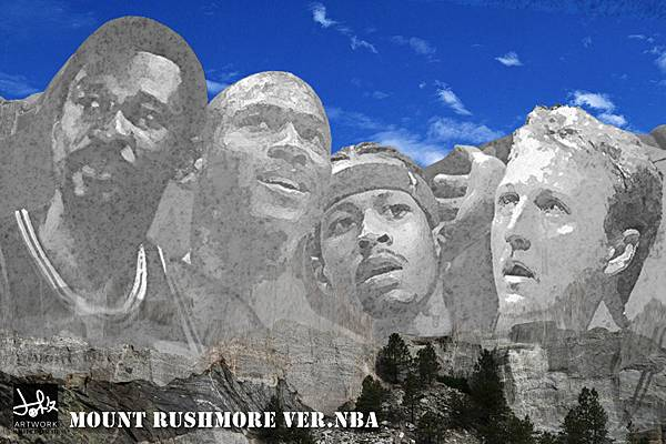 Mount Rushmore ver.NBA