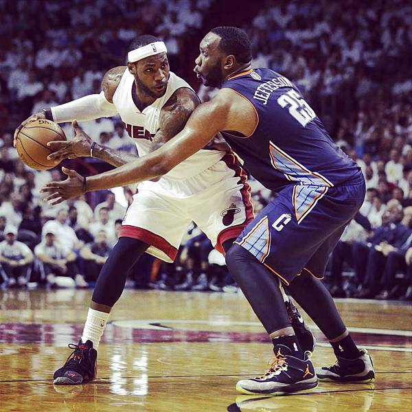 LeBron James vs Al Jefferson