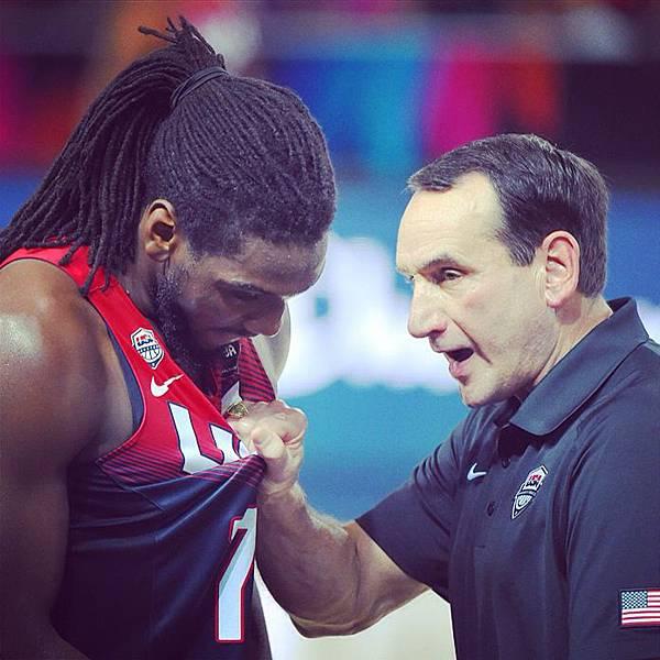 Kenneth Faried & Coach K
