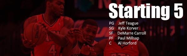 Hawks 2014-15 Starting 5