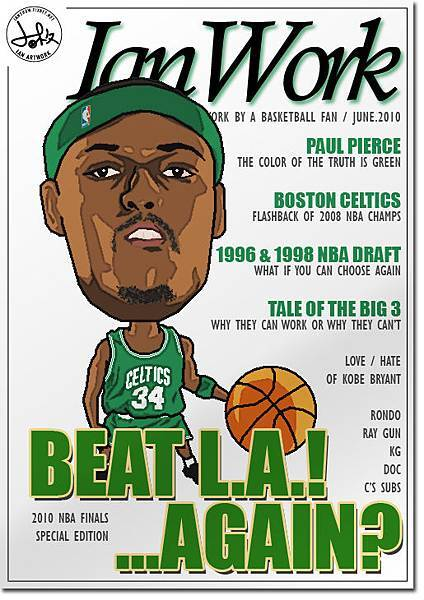 Fake Magzine Cover_Paul Pierce