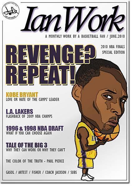 Fake Magzine Cover_Kobe Bryant