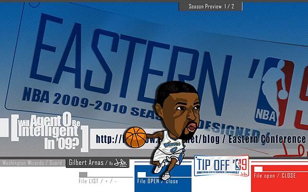 NBA2009-10球季預覽_東區