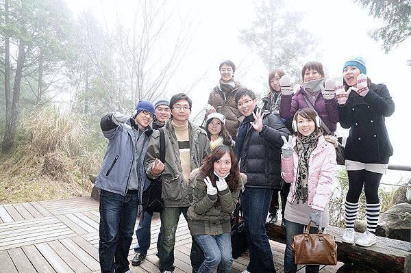 太平山漫遊(1/1)-可惜起了大霧,看不到湖面