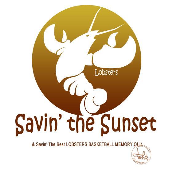 這是我的OBL設計1,不論技術層面,個人還滿喜歡的,覺得將主題蝦子與黃昏夕籃做了不錯的結合:Saving the Sunset & Saving the best LOBSTERS BASKETBALL MEMORY of it!