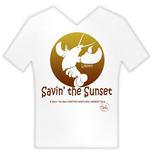 以第一個logo為素材的OBT:Saving the Sunset & Saving the best LOBSTERS BASKETBALL MEMORY of it!