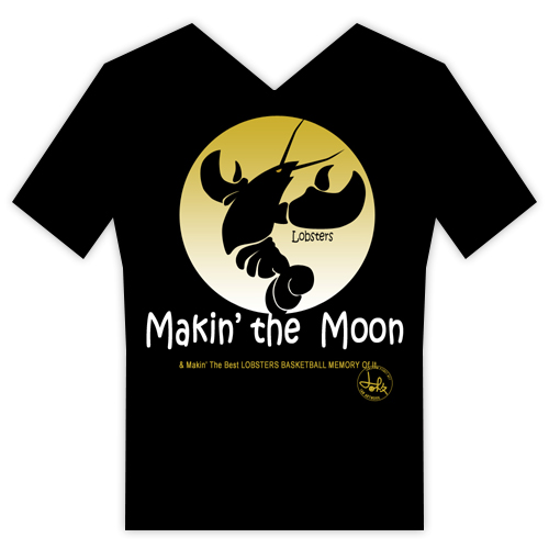 以第二個logo為素材的OBT:Making the Moon & Making the best LOBSTERS BASKETBALL MEMORY of it!