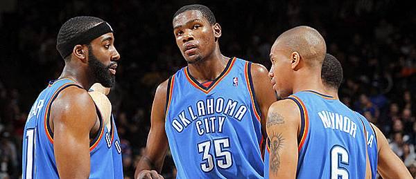KD & Thunder teammates