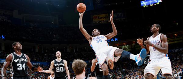 Kevin Durant v.s. Spurs