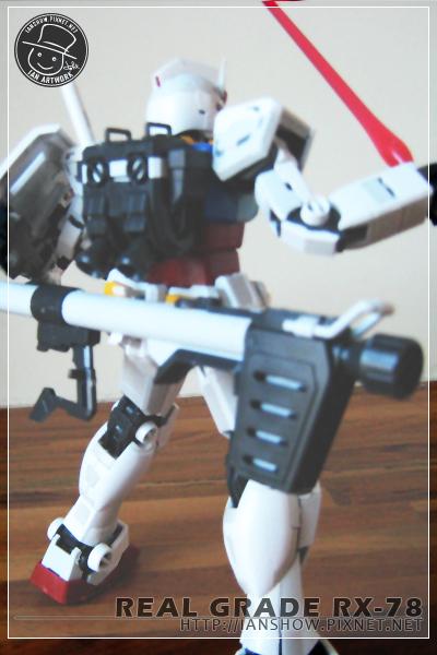 全部武器上手!_RX-78背面