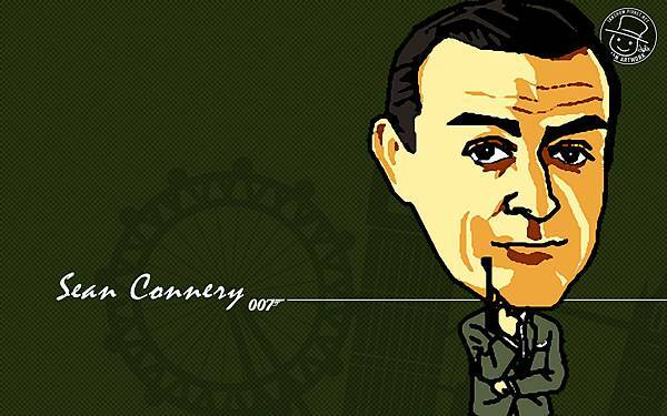 經典007情報員系列:史恩.康納利(Sean Connery)