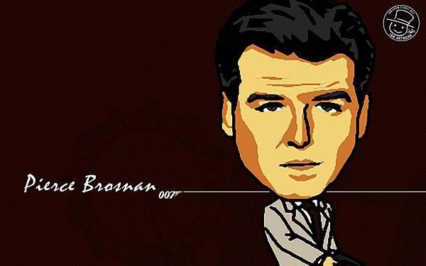 經典007情報員系列:皮爾斯.布洛斯南(Pierce Brosnan)