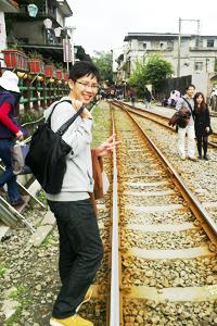 小枚@十分老街 2011.3.13