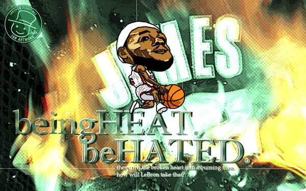 LeBron James_being heat, be hated.