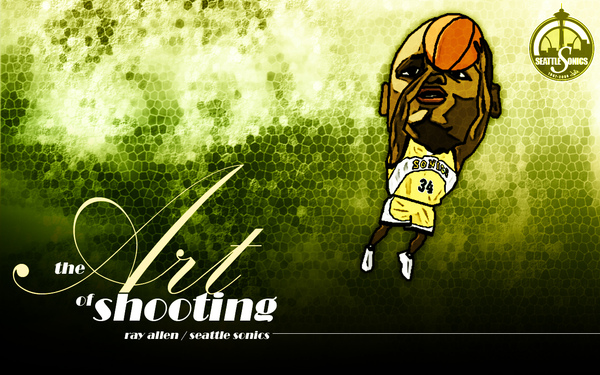 Ray Allen - the Art of Shooting.