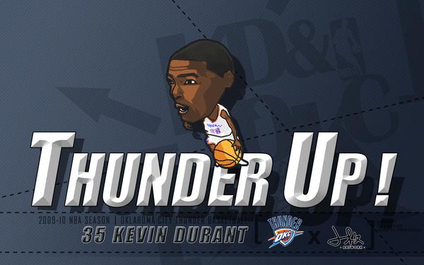 Thunder Up! 杜蘭特加油,雷霆隊加油!!