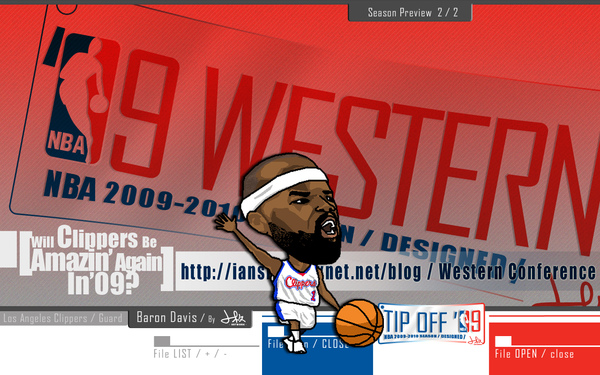 NBA2009-10球季預覽_西區
