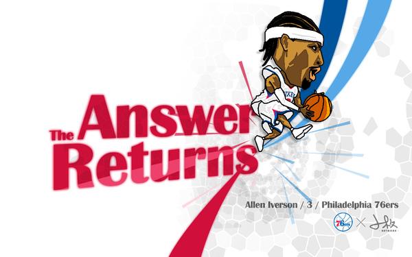 Allen Iverson Returns to 76ers