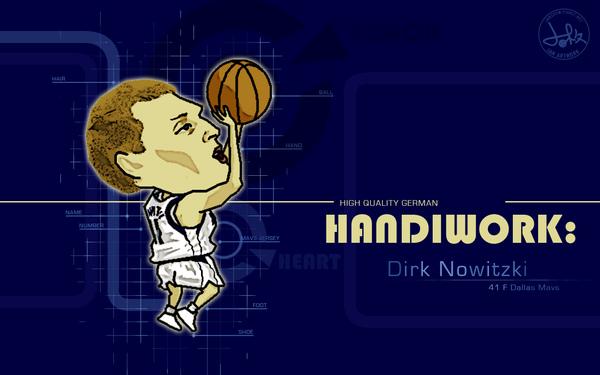 Dirk Nowitzki - HQ German Handiwork