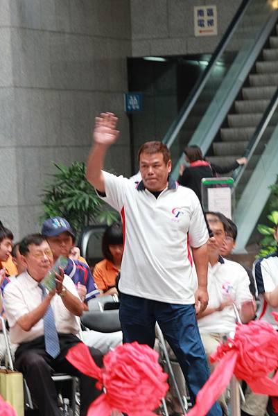 歡迎1979年中華少棒隊投手 陳昭安先生