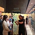 棒協理事長 彭誠浩先生熱心的為大家講解。