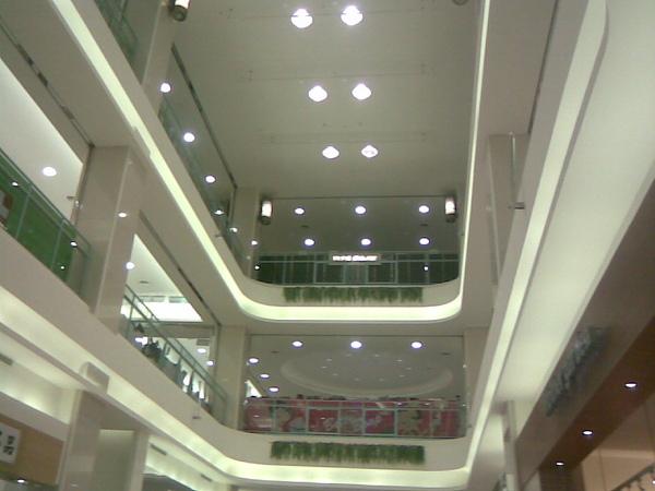 百貨公司的天花板