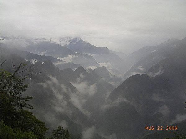 台8-遠眺立霧溪谷