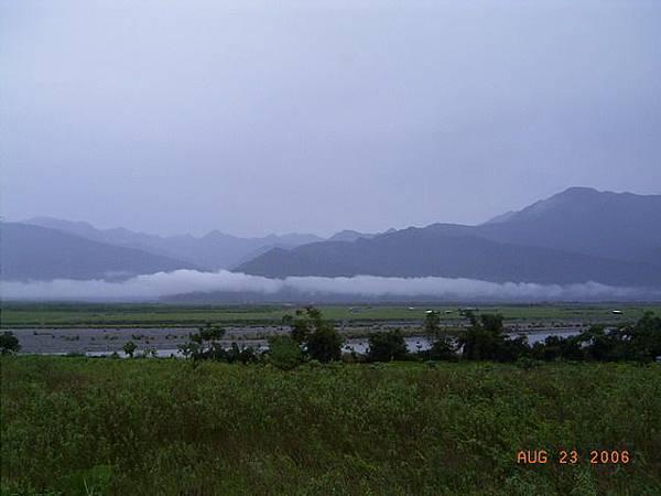 雲都盤在中央山脈的山腰