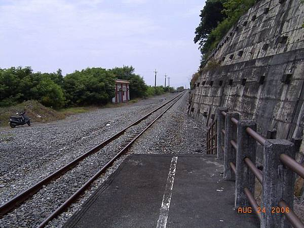富山車站月台