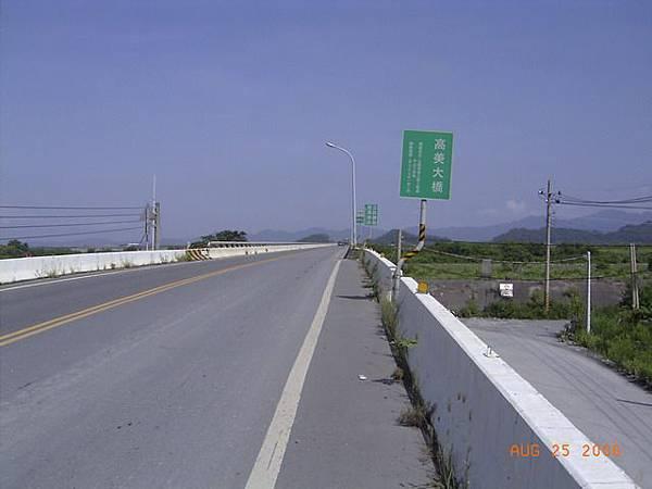 縣181-高美大橋,過橋後就是高雄縣了