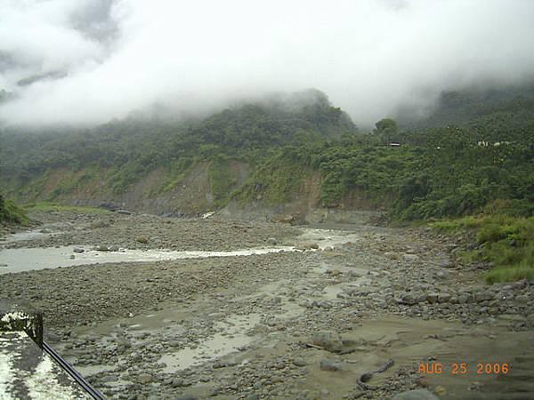 清水溪,每逢颱風都會聽到的災區