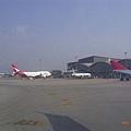 香港機場到囉